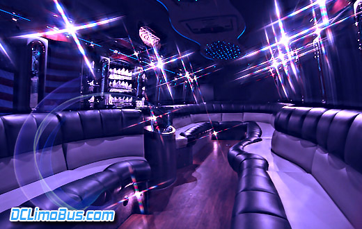 DC Limo Bus Interior